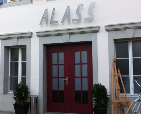 Alass Blechkonstruktion