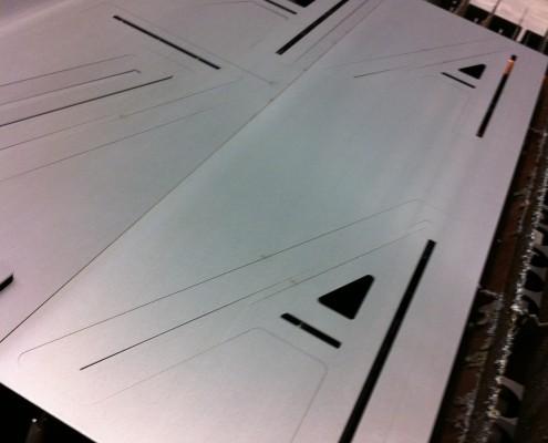 Alass Blechkonstruktion Laser