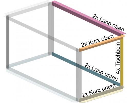 Konstruktions Tipp - Viele verschiedene Teile - Blexon