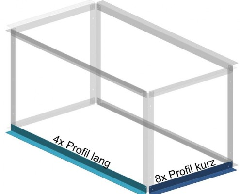 Konstruktion Tipp - Wenig verschiedene Teile