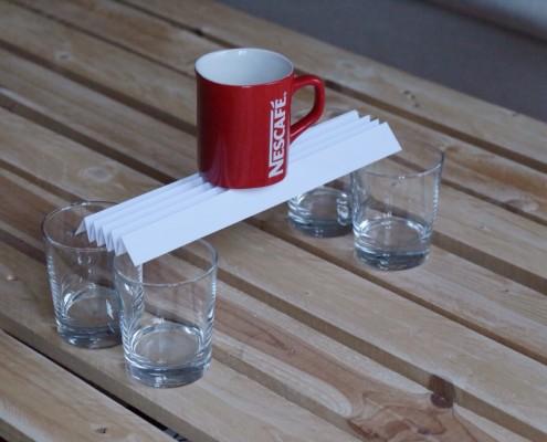 Leichtbau-Brücke aus Papier (Bild 3)