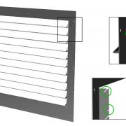 Positionierhilfe - Blechteile konstruieren