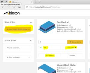 Fusion 360 Blech - Blexon Autodesk