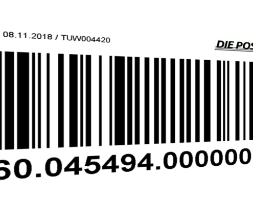 Trackingcode der Post