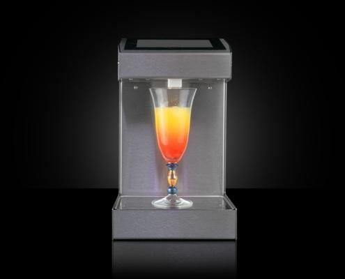 Cocktailautomat von Tapmatrix mit Blechteilen von Blexon